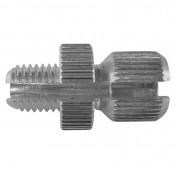 CABLE ADJUSTMENT SCREW FOR MOPED M8 L15mm (SPLIT) FOR GAS HANDLE MINI TARGA (SOLD PER UNIT)