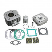 COMPLETE CYLINDER KIT FOR SCOOT ATHENA FOR MBK 50 BOOSTER, STUNT/YAMAMA 50 BWS, SLIDER (ALUMINIUM NIKASIL)