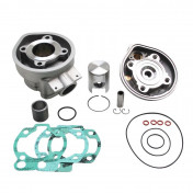 COMPLETE CYLINDER KIT FOR 50cc MOTORBIKE ATHENA FOR MINARELLI 50 AM6/MBK 50 X-POWER, X-LIMIT/YAMAHA 50 TZR, DTR/PEUGEOT 50 XPS/RIEJU 50 RS1/BETA 50 RR/APRILIA 50 RS 1995>2005 (ALUMINIUM NIKASIL)