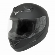 HELMET-FULL FACE ADX XR1 SHADOWS SOLID MATT BLACK - L