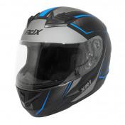 HELMET-FULL FACE ADX XR1 SHADOWS MATT BLACK/BLUE - XXL