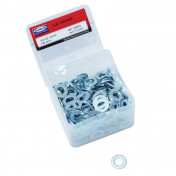 WASHER - FLAT IN STEEL Ø 8mm (200 IN A BOX) -P2R-