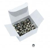 HEX NUT NYLSTOP TYPE M4 (100 IN BOX) (812000) -ALGI-