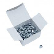 ECROU 6 PANS NYLSTOP/FREIN DIAM M6 (BOITE DE 100 PIECES) (814000) -ALGI-