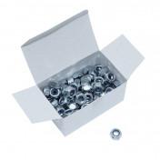 ECROU 6 PANS NYLSTOP/FREIN DIAM M10 (BOITE DE 100 PIECES) (817010) -ALGI-