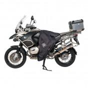 TABLIER COUVRE JAMBE TUCANO MOTO GAUCHO R120 NOIR POUR BMW 1200 R GS 2003>2012 (SYSTEME ANTI-FLOTTEMENT SGAS)