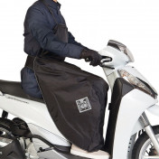 LEG COVER - TUCANO - LINUSCUD - BLACK - WATERPROOF WITH THERMIC LINING (R194)