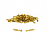 ELECTRIC CABLE TERMINAL- MALE 6,3X1 RM 7840 BRASS - (SOLD PER 50 IN A PACK)