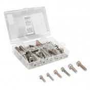 ALLEN SCREW - M5 x 15/20mm + M6 x 20/25mm + M8 20/25mm (range of 60 units in box) -SELECTION P2R-
