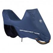 HOUSSE/BACHE DE PROTECTION SCOOT TUCANO PRO 222 ETANCHE ET REPIRANTE BLEU FONCE POUR MOTOS TRAIL (LONG 222cm - LARGE 90cm - HAUT 136cm) (222PRO)