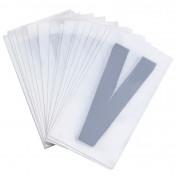 LETTER FOR LICENSE PLATE PVC MOTORBIKE/SCOOTER 45mm V (SOLD PER 50)