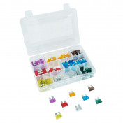 CLASSICAL FLAT FUSE 3 - 5 - 7,5 - 20 - 25 - 30A (100 IN A BOX) -SELECTION P2R-