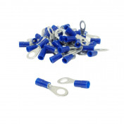 ELECTRIC CABLE TERMINAL - ROUND SHAPED - PRE INSULATED TERMINAL- FOR WIRE Ø 0.5 to 2.5 mm2 (50 IN A BAG) SELECTION P2R