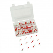 ELECTRIC CABLE TERMINAL- PRE-ISOLATED - RED (RANGE OF 165 PARTS IN BOX) -P2R-
