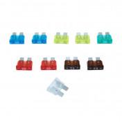 CLASSICAL FLAT FUSE 7,5 - 10 - 15 - 20 - 25 -30A (SOLD PER 10 IN A BAG)
