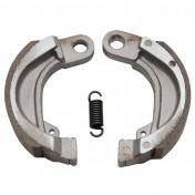 BRAKE SHOE FOR MOPED PEUGEOT 50 FOX -FRONT+REAR--SELECTION P2R-