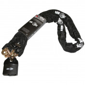 MOTORCYCLE ANTITHEFT- ARMLOCK CHAIN WITH SAFETY LOCK 1,50M (LINK Ø 9,5mm)