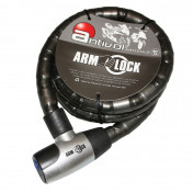 MOTORCYCLE ANTITHEFT- ARMOURED CABLE ARMLOCK 1,50M (Ø 25mm) WITH 2 KEYS