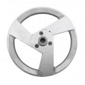 POULIE CYCLO ALU 3 BRANCHES POUR PEUGEOT 103 SP-MVL AVEC PIGNON 11 DTS -P2R-