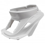 REAR SIDE COVER FOR SCOOT MBK 50 BOOSTER 1999>2003/YAMAHA 50 BWS 1999>2003 -GLOSS WHITE-- SELECTION P2R