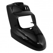 FRONT FAIRING FOR SCOOT MBK 50 BOOSTER 2004>/YAMAHA 50 BWS 2004> GLOSS BLACK