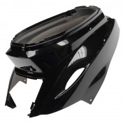 REAR SIDE COVER FOR SCOOT MBK 50 BOOSTER 2004>/YAMAHA 50 BWS 2004> -GLOSS BLACK-- SELECTION P2R