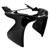 FRONT FAIRING FOR SCOOT MBK 50 NITRO 1997>2012/YAMAHA 50 AEROX 1997>2012 GLOSS BLACK (LOWER PART)- SELECTION P2R