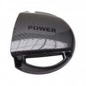 COOLING FAN COVER REPLAY FOR MBK 50 BOOSTER 2004>, STUNT 2004>/YAMAHA 50 BWS 2004>, SLIDER 2004> CARBON SHINE
