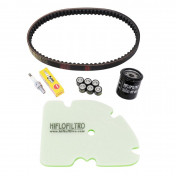 KIT ENTRETIEN MAXISCOOTER ADAPTABLE PIAGGIO 125 MP3 IE 2008>2011, 125 VESPA GTS EU3 2007>2012 -TOP PERFORMANCES-