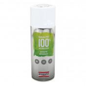 BOMBE DE PEINTURE AREXONS ACRYLIQUE 100 GRIS EFFET CHROME AEROSOL 400 ml (3438)
