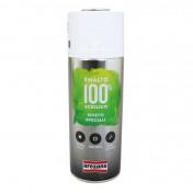 BOMBE DE PEINTURE AREXONS ACRYLIQUE 100 ARGENT EFFET METALISE AEROSOL 400 ml (3673)