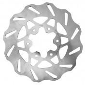BRAKE DISC FOR 50cc MOTORBIKE POLINI FOR DERBI 50 GPR 2004>-REAR-(OUTER Ø 218 mm, INNER Ø 57,2 mm, 6 HOLES)