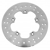 BRAKE DISC FOR 50cc MOTORBIKE MBK 50 X-POWER 2003> -REAR-/YAMAHA 50 TZR 2003> -REAR-/APRILIA 50 RS 1999>2005 -REAR- (OUTER Ø 220mm, INNER Ø 102mm, 5 DRILL HOLES,VIS Ø 8) -IGM-