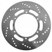 BRAKE DISC FOR 50cc MOTORBIKE MBK 50 X-POWER 2004> -FRONT-/YAMAHA 50 TZR 2004> -FRONT- (OUTER Ø 282mm, INNER Ø 132mm, 6 DRILL HOLES) -NEWFREN-