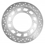 BRAKE DISC FOR 50cc MOTORBIKE MBK 50 X-POWER 2004> -FRONT-/YAMAHA 50 TZR 2004> -FRONT- (OUTER Ø 282mm, INNER Ø 132mm, 6 DRILL HOLES) -SELECTION P2R-