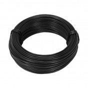 ELECTRIC WIRE 1,50mm2 MULTIPLE NETTING - BLACK (50M) -SELECTION P2R-