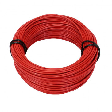 ELECTRIC WIRE 1,50mm2 MULTIPLE NETTING - RED (50M) -SELECTION P2R