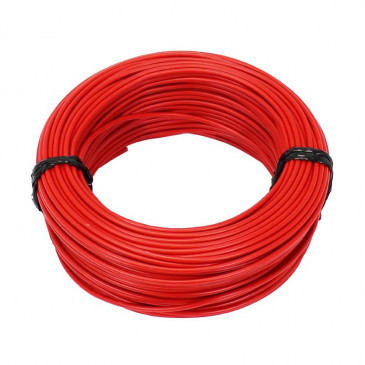 ELECTRIC WIRE 2,50mm2 MULTIPLE NETTING - RED (50M) -SELECTION P2R-