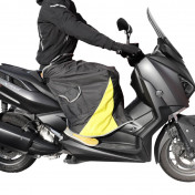 LEG COVER - ADX UNIVERSAL FOR RIDER- BLACK+ VELVET INSIDE (TO BE ATTACHED TO THE RIDER)