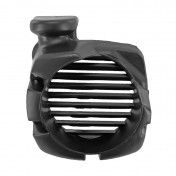 RADIATOR COVER FOR SCOOT MBK 50 OVETTO 4STROKE 2008>/YAMAHA 50 NEOS 4STROKE 2008> BLACK -P2R-