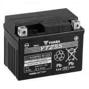 BATTERY 12V 5 Ah YTZ5S YUASA MF HIGH PERFORMANCE- READY FOR USE (L113xW70xH85)