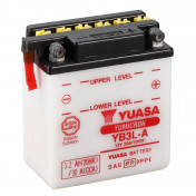 BATTERY 12V 3 Ah YB3L-A YUASA YUMICRON WITH MAINTENANCE (Lg98xL56xH110)