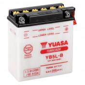 BATTERY 12V 5 Ah YB5L-B YUASA YUMICRON WITH MAINTENANCE (Lg120xL60xH130)