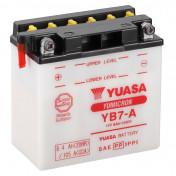 BATTERY 12V 8 Ah YB7-A YUASA YUMICRON WITH MAINTENANCE (Lg135xL75xH133)