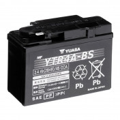 BATTERY 12V 2,3Ah YTR4A-BS YUASA MAINTENANCE FREE DELIVERED WITH ACID PACK (Lg114xL49xH86)