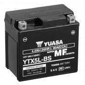 BATTERY 12V 4 Ah YTX5L-BS YUASA MAINTENANCE FREE DELIVERED WITH ACID PACK (Lg114xL71xH106)