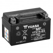BATTERY 12V 6 Ah YTX7A-BS YUASA MAINTENANCE FREE DELIVERED WITH ACID PACK (Lg150xL87xH94)