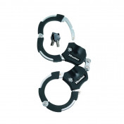 "BICYCLE ANTITHEFT- ""HANDCUFFS"" MASTERLOCK STREET CUFF L 36mm - supplied with 4 keys - SECURITY LEVEL 9"