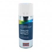BOMBE DE PEINTURE AREXONS SMALTO SPECIAL METAL SATIN BLANC GLACE MAT AEROSOL 400 ml (3853)