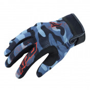 GLOVES - SPRING/SUMMER ADX VISTA with PROTECTIVE SHELL - BLACK/CAMO SIZE 12 (XXL) (APPROVED EN 13594:2015)